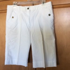 CHICO'S Shorts White excellent condition